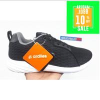 Ardiles KENDAL warna hitam - Sepatu Sneaker/Sekolah/Runing PRIA/Wanita