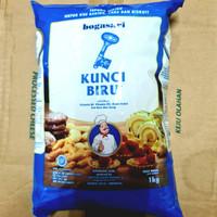tepung terigu kunci biru PREMIUM 1 kg / protein Rendah 1kg