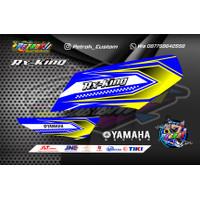 Stiker Striping Rx King Variasi Motor Terbaru Racing
