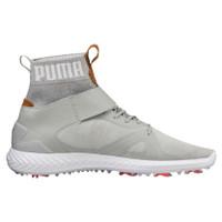 Puma Golf Men Ignite Pwradapt Hi-Top Gray Violet Shoes-18993201