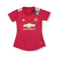 Jersey Baju Bola MU Home Ladies Cewek Wanita Perempuan Merah 2020 2021