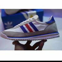 Sepatu Adidas sl72 White France Putih Merah Biru