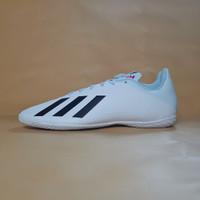 Sepatu Futsal Adidas X 19.4 Indoor White Original BNIB