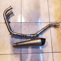 Knalpot Prospeed Yamaha R25 Full system type MF CARBON
