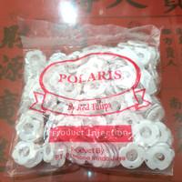 kancing sakura putih15mm / kancing piyama