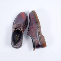 SEPATU KULIT AZCOST FOOTWEAR SAMORA BURGUNDY ORIGINAL