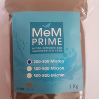 PELET / PELLET MEM 200 - 300 MIKRON 1kg / PAKAN IKAN 2/3