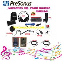presonus audiobox 96 studio komplete paket recording