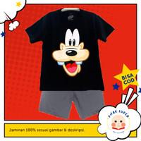 Baju anak laki-laki / Setelan anak laki-laki motif Goofy 1-10 tahun