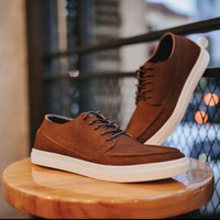 MARIO |MNM x Zapato| KULIT ASLI PREMIUM Sepatu Sneakers Pria Casual - 39