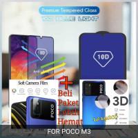 blue light tempered glass poco M3 garskin tempered glass kamera