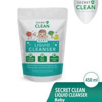 SECRET CLEAN BABY LIQUID CLEANSER 450ML FOOD GRADE
