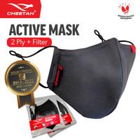 Masker Kain Cheetah Cloth Mask