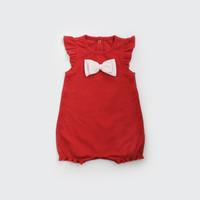 Baju Imlek Anak / Romper Bayi / I am Cotton Romper Red Pita