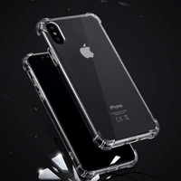 Case Anticrack Softcase Akrilik IPHONE Xs Max 5 6+ 7+ 11 12 pro Xr X