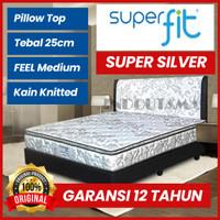 Comforta SuperFit Spring bed Super Silver (Hanya kasur) 180x200 Murah