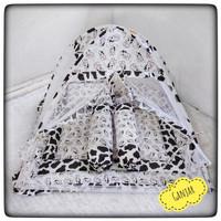 matras tidur bayi kelambu lipat set bantal guling baby bedcover bayi
