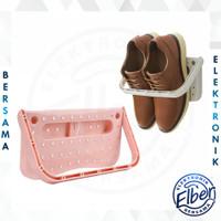 ELBER - HL0135 Gantungan Sepatu Praktis Hanger Rak Kamar Mandi Rak