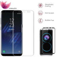 Samsung Galaxy S8 Plus /Tempered Glass 3D Full Curved Anti Gores Kaca