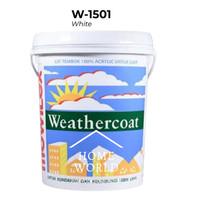 Cat Tembok Exterior Mowilex Weathercoat W1501 White 20liter/pail