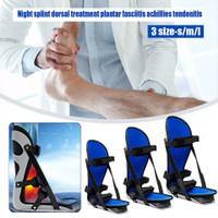S/M/L Alat Bantu Jalan Night Splint Foot Ankle Brace Plantar Fasciitis - S