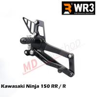 Footstep Racing WR3 V-Series Kawasaki Ninja 150 RR / Ninja 150R - Full Black