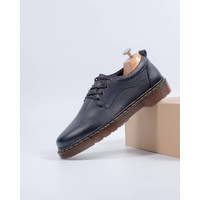 SEPATU KULIT AZCOST FOOTWEAR SAMORA BLACK ORIGINAL