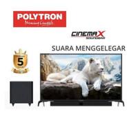 Led Polytron 32 Inch Cinemax Sound Bar PLD 32B1550 GARANSI 5 TAHUN