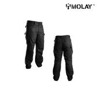 Celana Molay Peacekeeping Uniform Pant - Black, 36