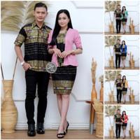 Seragam Baju Batik Couple Kapel RnB Keluarga Ayah Ibu Kondangan Pesta
