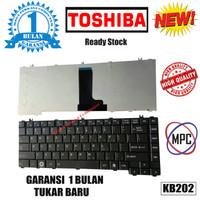 Keyboard Laptop Toshiba C600 C640 L600 L630 L635 L640 L645 L730 Hitam
