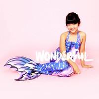 Baju Kostum Renang Mermaid/Putri Duyung Motif RICIS RICHIS