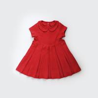 Baju Imlek Anak / Dress Bayi dan Anak / I am Cotton Dress Collar Red