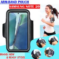 Samsung Galaxy Note 20 Armband Pouch Arm Band Sport Sarung Lengan Lari - Hitam