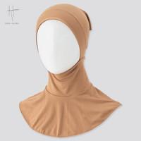Hijab Uniqlo x Hana Tajima Airism Ciput Ninja Jilbab Original - Beige