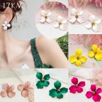 Anting Anting Bunga Model Tusuk Perhiasan Wanita