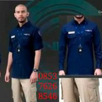 baju seragam tv pria kerja