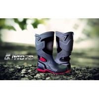 Sepatu AP Boots Moto 3 Karet PVC Anti Air Tembus Banjir Hujan