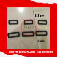 Ring Kotak Plastik Tas Aksesoris 2.5, 3.8 & 5 cm - 2.5 cm