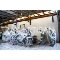 Cover motor transparant ninja rr 150 old / new / se
