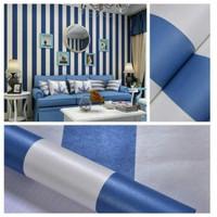 S45 Wallpaper Sticker Stripe - Wallpaper Dinding Garis