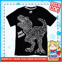 Baju anak laki-laki / Kaos anak laki-laki motif Dino Epic 1-10 thn - 1-2 tahun