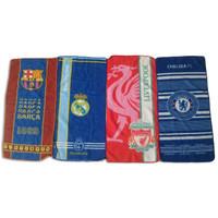 Handuk Leher Motif Bola Barca Real Madrid Liverpool Chelsea