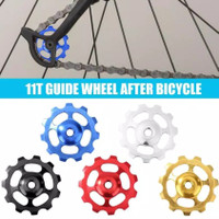 11T MTB Derailleur Jockey Wheel Sepeda Ceramic Bearing Pulley RD lipat