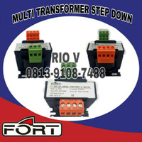 MULTI TRANSFORMER STEP DOWN / TRAVO / TRAFO 100 VA INPUT 380/220V FORT