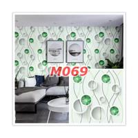 M69 Wallpaper Sticker Minimalis - Wallpaper Dinding