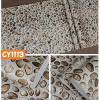 R88 Wallpaper Sticker Batu - wallpaper dinding