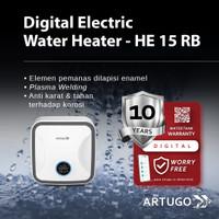 ARTUGO DIGITAL ELECTRIC WATERHEATER HE 15 RB - REMOTE CONTROL