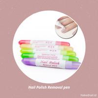 Nail Polish Removal pen penghapus kutek gel removal gel nail art