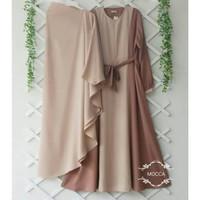 Baju Gamis Syari Set Khimar Hijab Dewasa kekinian Murah Terbaru
